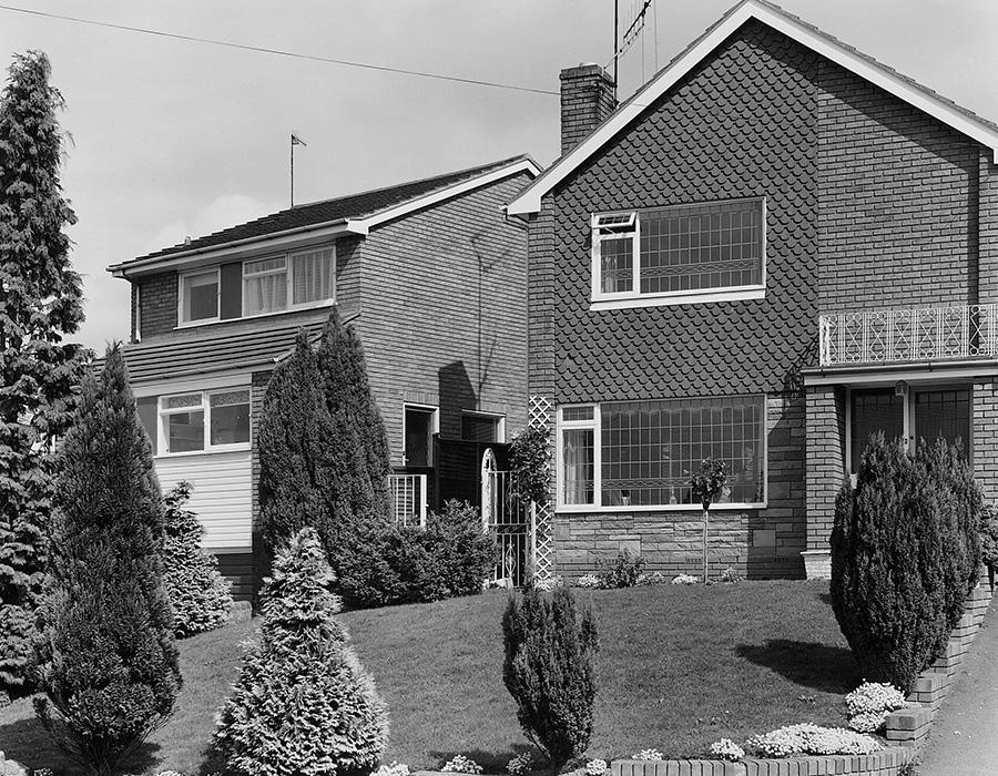 John Myers Photographs Of Middle England Houses